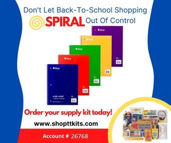PTO 2021-22 School Supply Orders - Order by June 18