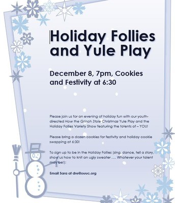 Holiday Follies and Yule Play