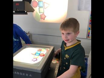 Exploring patterns and design in kindergarten