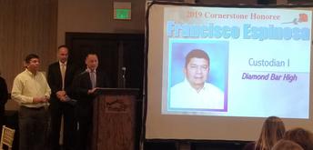 Congratulations to Francisco Espinosa!