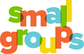 SMALL GROUPS ARE AT 10:00 A.M.!!