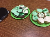 Sharing our Cupcakes