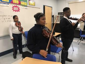 Grade 6 Violinists