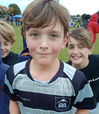Sam 2nd in New Plymouth Cross Country