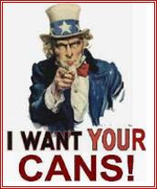 BRING A CAN MONDAY, NOVEMBER 30!