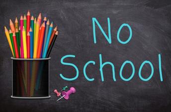 No School on Monday 10/14: Teacher In-service Day