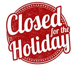 The CASY office will be closed: