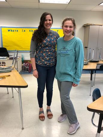 May Featured Teacher--Mrs. Reitz