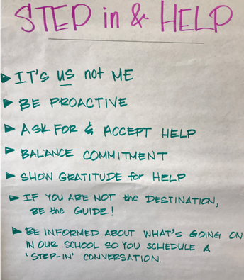 STEP IN & HELP