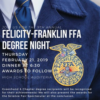 FFA Degree Night