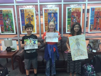Red Ribbon Poster Contest Winners- 6th Grade