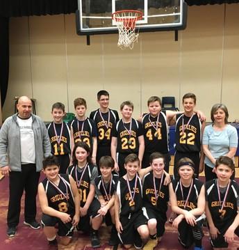 Boys 7A Basketball Gold
