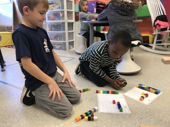 Practicing regrouping with subtraction