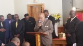Chairman Deacon Harper Leads Deacons in Song