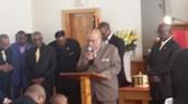 Chairman Deacon Harper Leads Deacons in Song