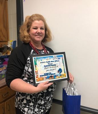 Mrs. Hopwood - MES Teacher Winner