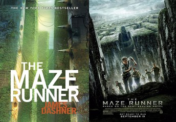 THE MAZE RUNNER SERIES  By Aubrey B. & Katie C.