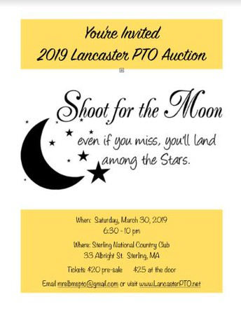 Lancaster PTO Auction - You're Invited!