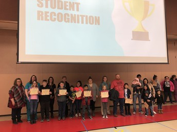 January Character Award Recipients for Self-Discipline