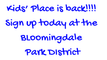 Kids Place - Bloomingdale Park District UPDATED
