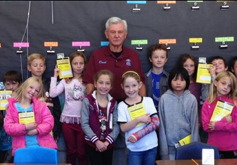 Thank you Elks Lodge for providing 3rd graders a dictionary  (& $1 hidden in the dictionary!)