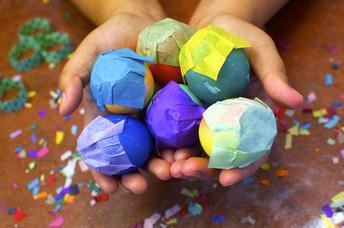 Salazar Family Confetti Egg Tradition