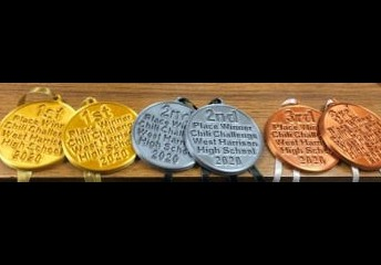 Chili Contest Medals