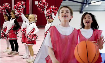 Post Road Christian Church Basketball and Cheerleading league