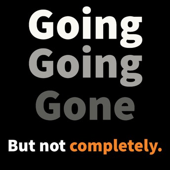 going going gone graphic