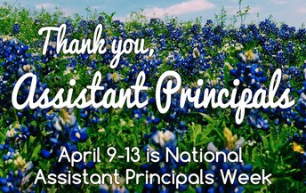 Let's give a HUGE shout out to our amazing Assistant Principal