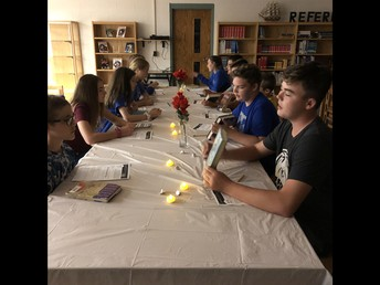 Speed Dating with a book-  Mrs. Thiessen ELA