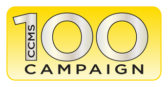 DONATE NOW TO THE CCMS 100 CAMPAIGN!