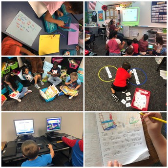 1st grade learning stations