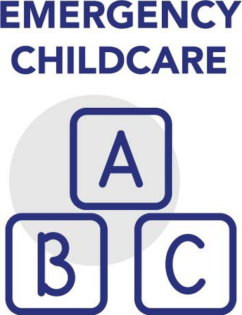 Graphic of Emergency Childcare