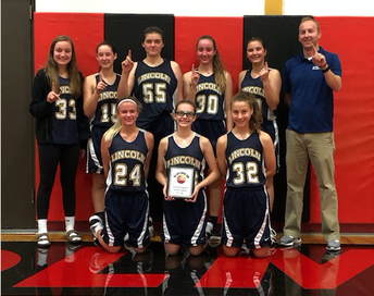 Conference Champs - Lincoln Girls Basketball Team!