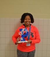 November's Teacher of the Month: Ms. Crockett