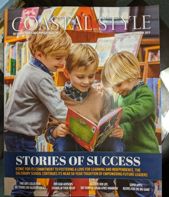 Check out the newest Coastal Style Magazine.