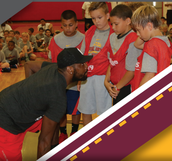 KYRIE IRVING YOUTH BASKETBALL PROCAMP AT SHS