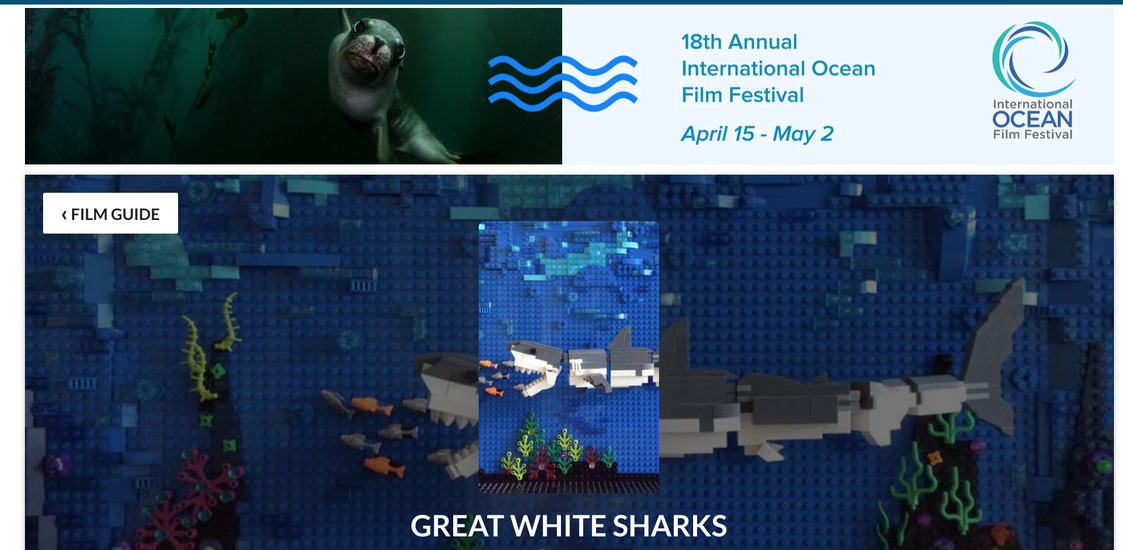 Great White Shark Lego Stop-Motion Film