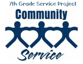 7th Grade PADS Service Project for 2017