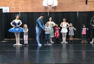 Colorado Ballet with Garfield Students