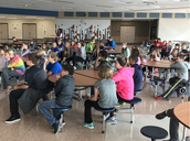 Fifth Grade Students Receive Tour of DMMS