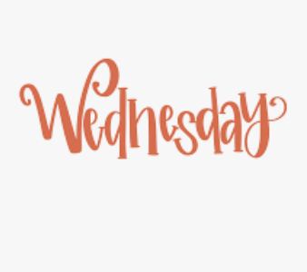 Wednesday, October 7 Schedule Reminder