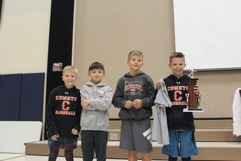 Top CPE Boy Finishers!