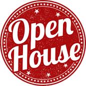 Open House - July 31st
