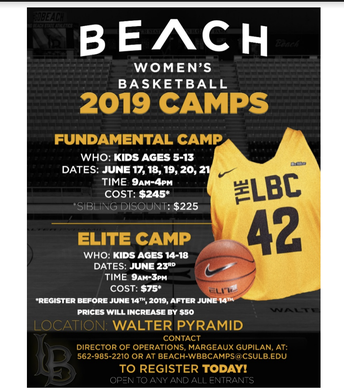 CSULB Women's Basketball Camp