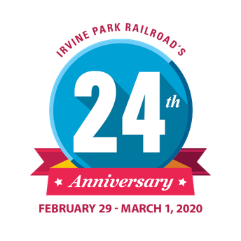 Irvine Park Railroad's 24th Anniversary