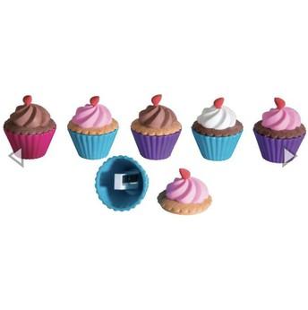 Cupcake Sharpener and Eraser