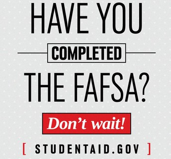 FAFSA APPLICATIONS NOW OPEN!