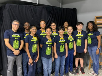oss ftc Binary Bosses places at ftc tesla league meet #3